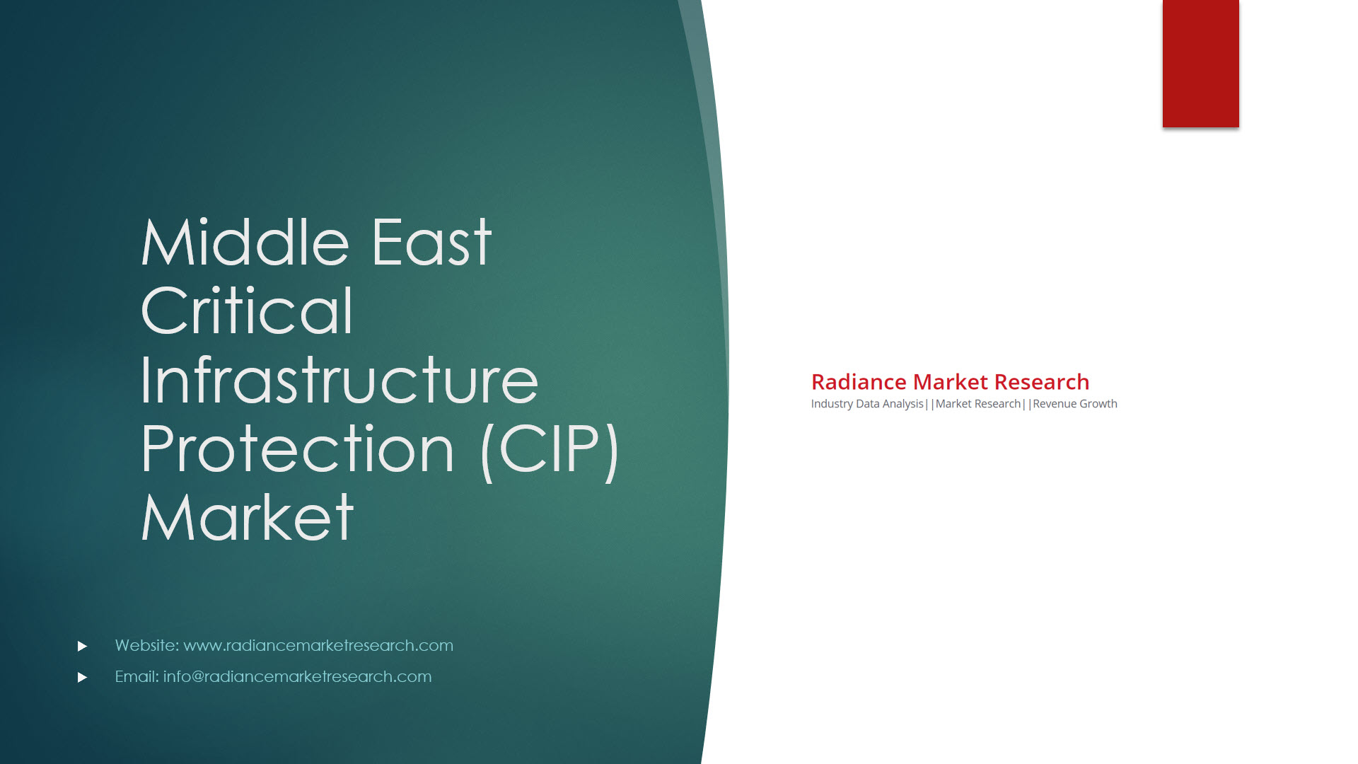Middle East Critical Infrastructure Protection (CIP) Market